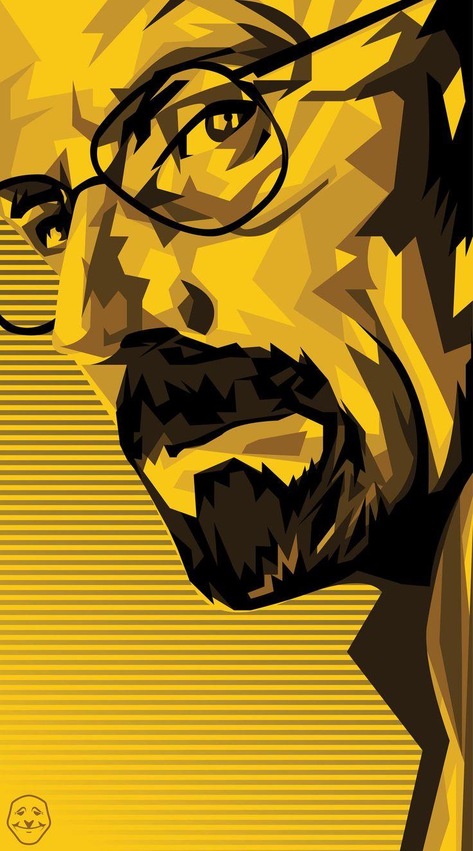 Breaking Bad - fan art 'Heisenberg' by Humza Mehbub #GangsterFlick