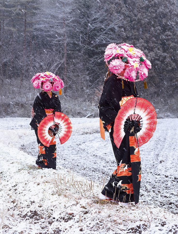 Photographing the Incredible Costumes of Japan's Supernatural Festivals | Atlas Obscura