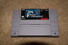 Space MegaForce (Super Nintendo Entertainment System 1994) - Authentic - Works