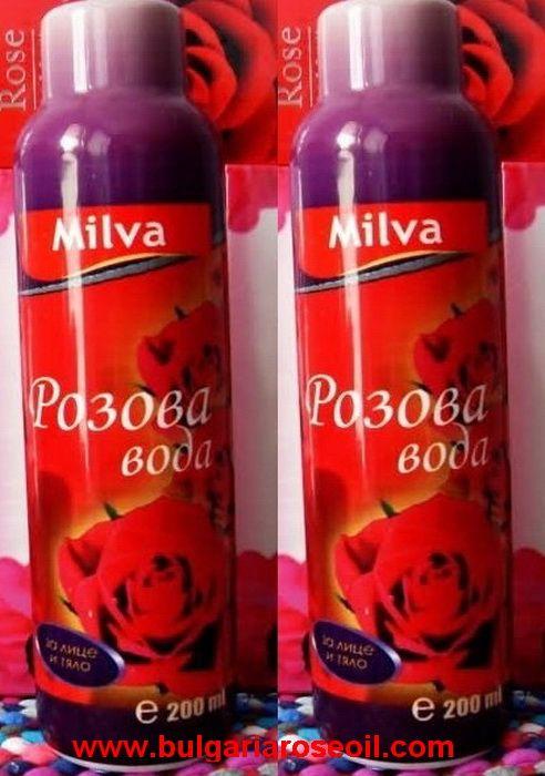 2X 200ml BULGARIAN ROSE WATER FACE BODY SPRAY PROMOTION