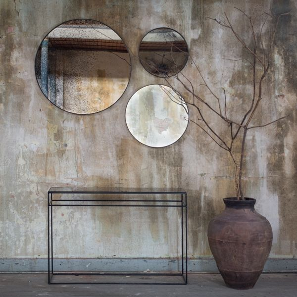 Bronze Copper Leaf console - by Notre Monde