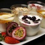 Yoghurt Pots by http://juicybeanscatering.com.au/