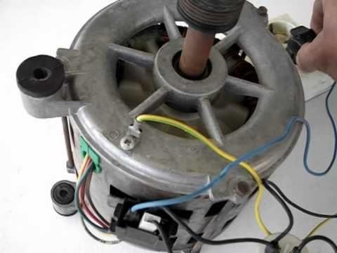 Cómo conectar un motor de lavadora II,