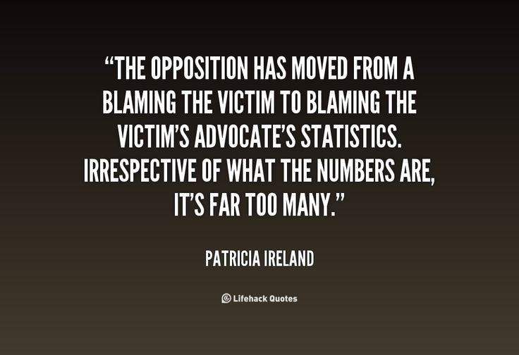 Victim Blaming Quotes. QuotesGram