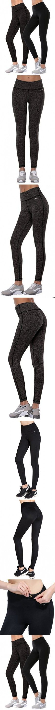 Aenlley Women's Activewear Yoga Pants High Rise Workout Gym Spanx Tights leggings Color Black Size XS