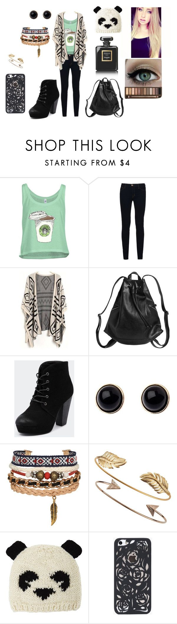"""White Girls Be Like"" by helenagonmir ❤ liked on Polyvore featuring J Brand, Monki, Therapy, Adele Marie, Tai, ADAM, BCBGMAXAZRIA and Chanel"