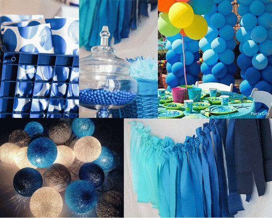 Cobalt Blue Party Decorations