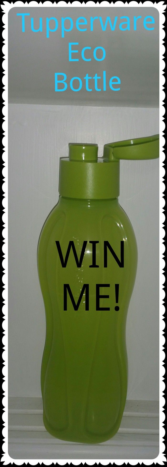 tupperware eco bottle win