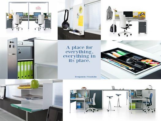 """""""A place for everything, everything in its place"""" Benjamin Franklin"""