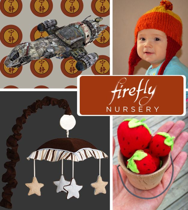 20 DIY Pop Culture Themes For Your Baby's Nursery  (and no - no babies in the near future. this was just adorable!!)