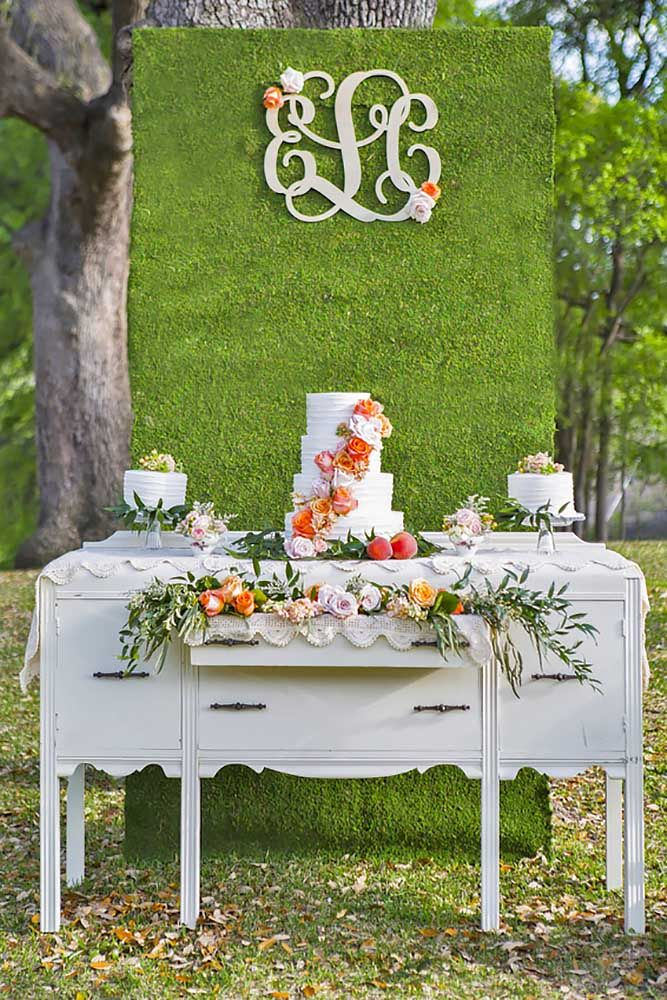 18 Ways To Use Wedding Monogram In Big Day Decor ❤ See more: http://www.weddingforward.com/wedding-monogram/ #weddings #decorations