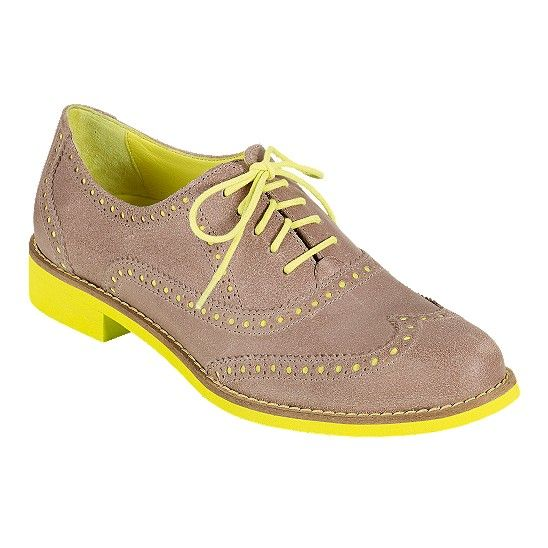 New Alisa Oxford shoes from Cole Haan are in candy colors. This one is most