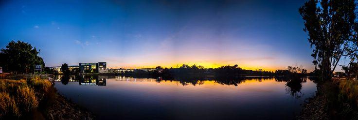 Krugersdorp Lake At Sunrise