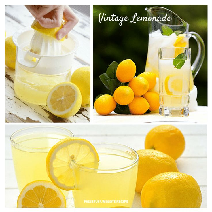 This is how they made lemonade in the 1800s. Delicious!