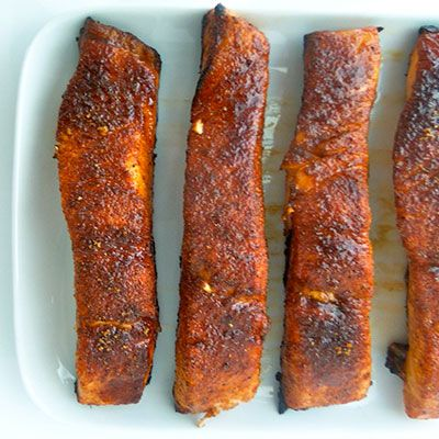 BBQ-Rub Salmon