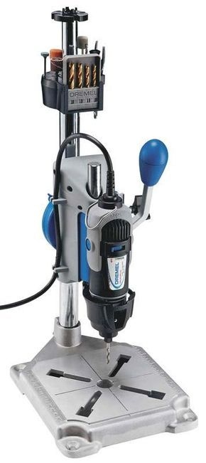 From cutting threads for a turned box-cap to making a the popular Dremel rotary power tool into a drill press, here are some adaptations of those hand-held powerhouses that may also prove practical for some project detailing. We found some interesting things featuring Dremel's tool from sites around the blogosphere.