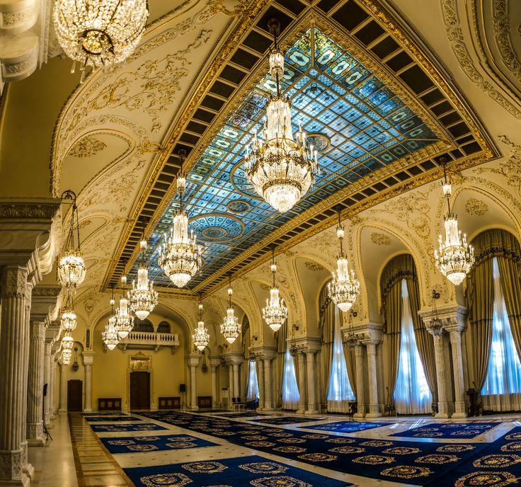 Sala unirii.Cotroceni Palace. Bucharest. Romania