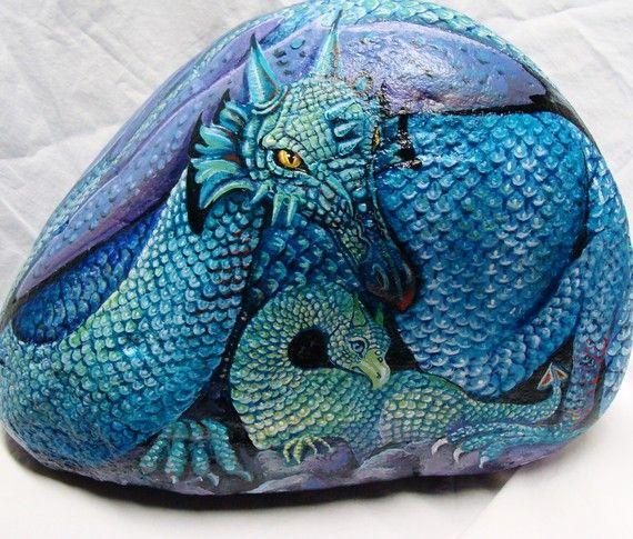 Dragon rock!!     by Shelli Carriveau Bowler