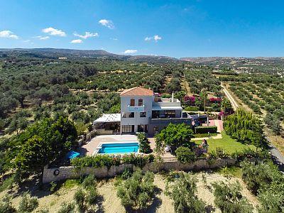 Rethymno villa rental - Totally private villa.