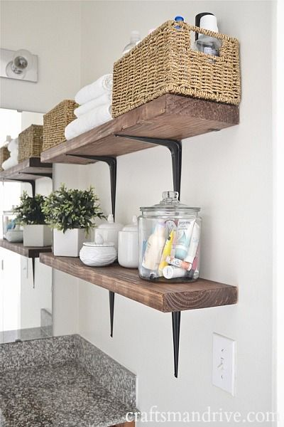 17 Best ideas about Bathroom Shelf Decor – Bathroom Shelves Ideas