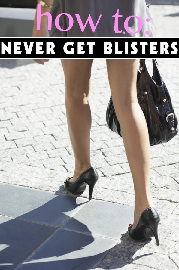 7 simple tricks on how to never get blisters. I have never tried these but hopefully they help! xoxo anitalookgood