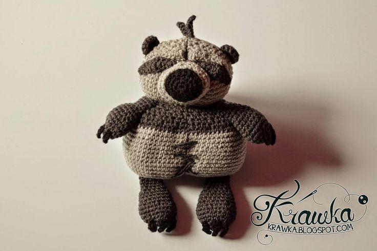 Amigurumi Raccoon Pattern Free : 207 beste afbeeldingen over Amigurumi op Pinterest ...