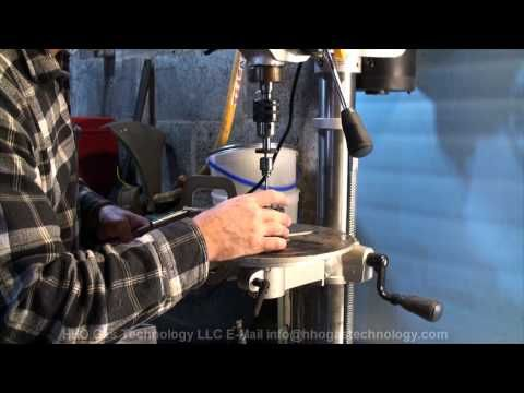 P2 of 2 HHO Gas Micro Torch Making Process 9-25-2012 - YouTube