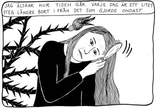 """""""Jag håller tiden"""". Åsa Grennvall"""