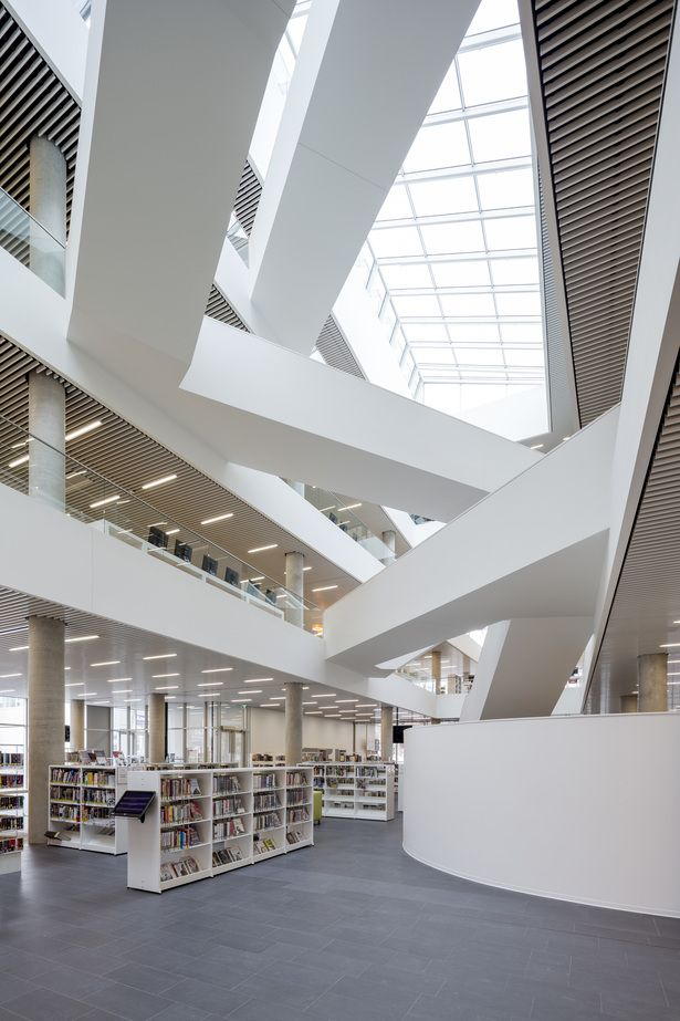 Danish Firm Schmidt Hammer Lassen Architects Collaborated With Local Office Fowler Bauld Mitchell On The Design For Halifax Central Library