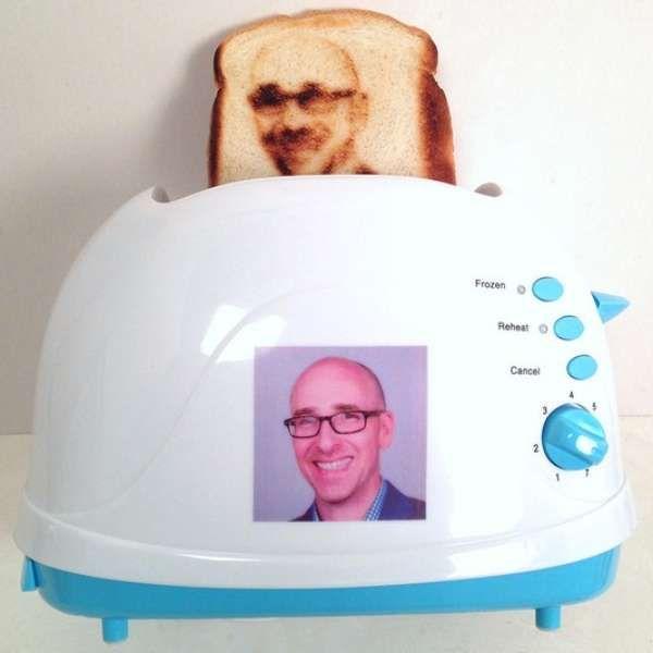 Selfies: agora é possível comer uma torrada com a sua cara