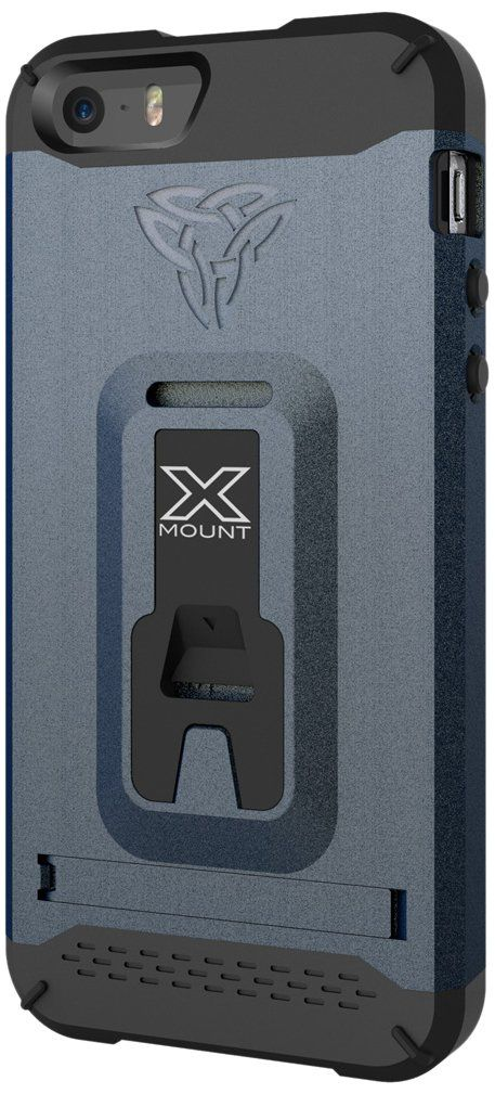 Armor-X Rugged Case Cover, Armor-X [ Belt Clip with Kick-Stand with X-Mount ] Tough Eco-System for Bike, Car and Armband for Apple iPhone 5 iPhone 5s - Retail Packaging - Blue. Ultra Protective: Engineered polycarbonate hard shell, shock-absorbent TPU lining and with complete impact protection against drops and bumps. Integrated with patented X-mount eco-system turns your iPhone into a training buddy, a bike computer, GPS & unlimited possibilities. Heavy Duty Belt Clip designed for your...