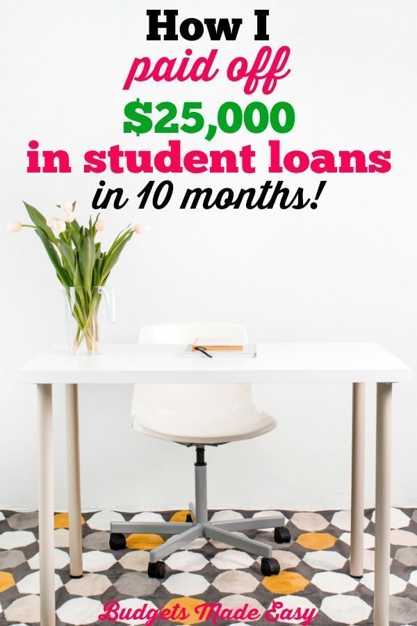 How We Paid Off 25 000 In Student Loans In 10 Months Debtpayoff Loans Months Paid Student Paying Off Student Loans Student Loans Paying Student Loans
