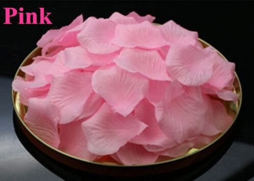 Rose Petals For Weddings petalos de rosa de boda artificiais petale de rose 2016 Wedding Decoration petales rose artificielles