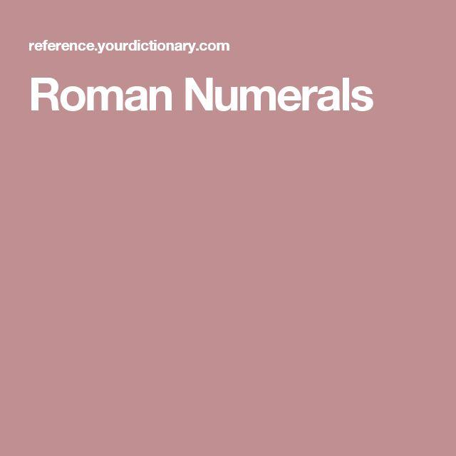 Best  Roman Numerals Translation Ideas On   Celtic