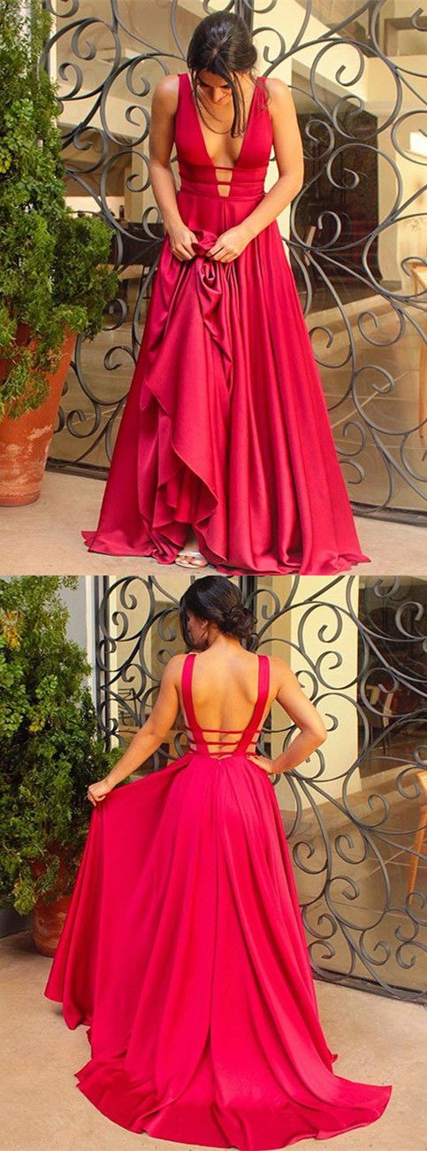 red prom dresses,backless prom dresses,simple prom dresses,long prom dresses,country prom dresses @S