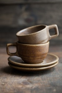 Stoneware Coffee Cups | Western Stoneware- Monmouth, IL