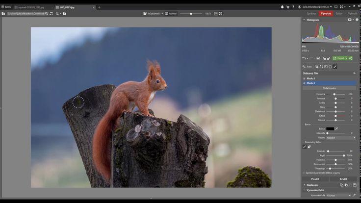 Zoner Photo Studio X: Jak na štětcový filtr