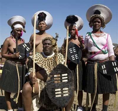 Traditional Zulu wedding ceremony in KwaZulu-Natal