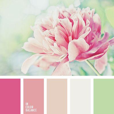 color crudo, color durazno, color melocotón, color verde suave, colores para una boda, colores verde y melocotón, matices del rosado pastel, melocotón y verde, paleta suave para una boda, rosa pastel, rosado pálido, rosado y verde, selección de colores para una boda, tonos
