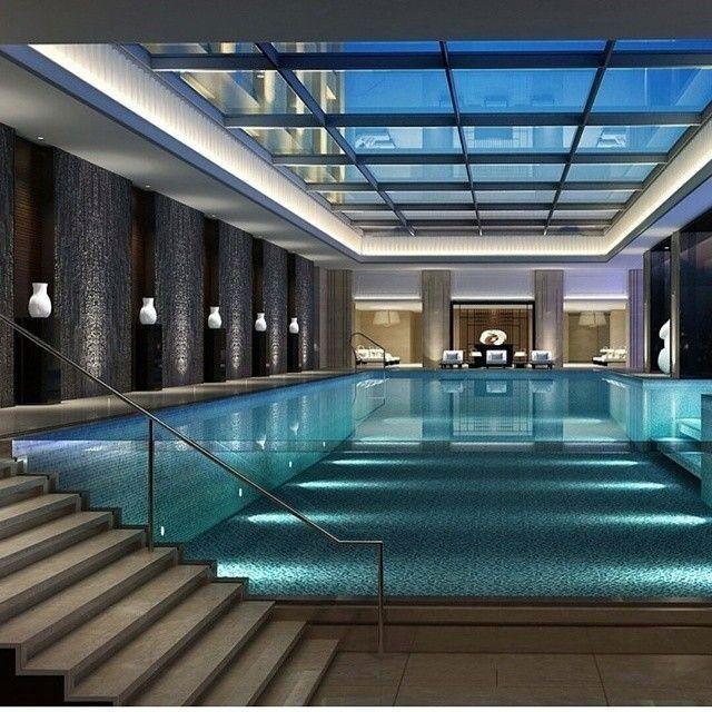 14 Amazing Backyard Pool Ideas Indoor Swimming Pool Design