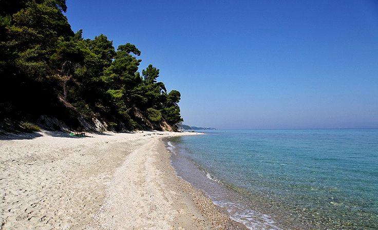 Kriopigi beach, Kassandra.