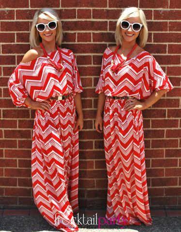 NATALIE Maxi in Red