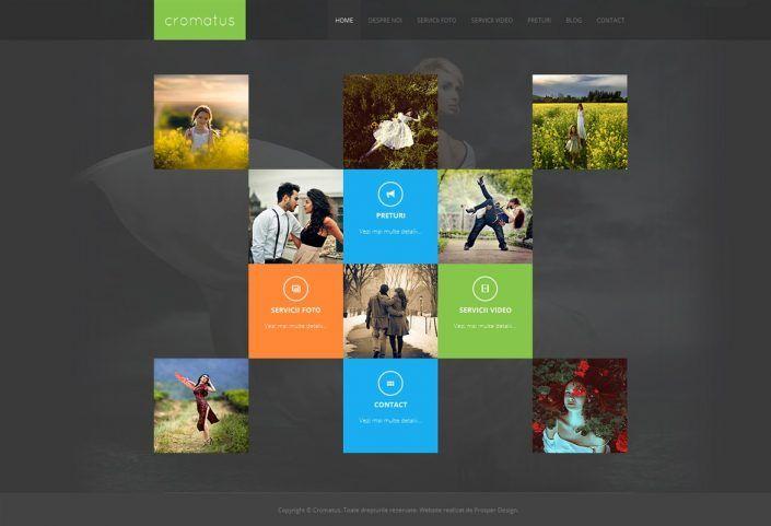 Prosperdesign Creare Site De Prezentare Media by ProsperDesignWeb.deviantart.com on @DeviantArt