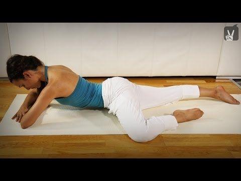Yoga Rücken: Entspannung für den unteren Rücken - YouTube