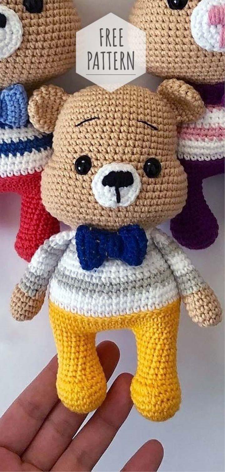 Amigurumi Lovely Bear Pattern