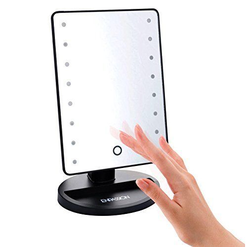 Vanity Mirror With Lights Portable : 1000+ ideas about Black Makeup Vanity on Pinterest Makeup vanity organization, Makeup vanities ...
