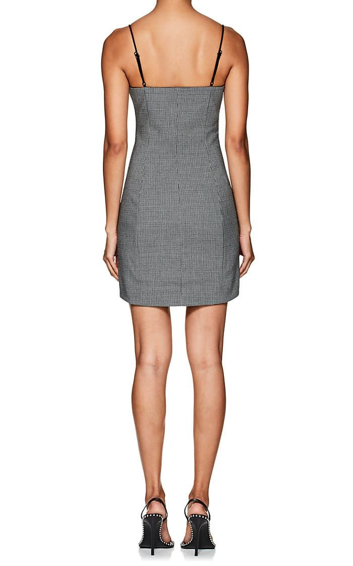 Alexander Wang Houndstooth Fitted Minidress Barneys New York Mini Dress Alexander Wang Nice Dresses