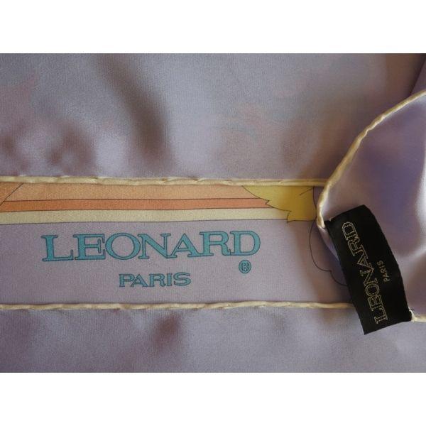 foulard en soie,leonard paris,carré de soie leonard paris,luxe accessoire  femme 65d505f91ea