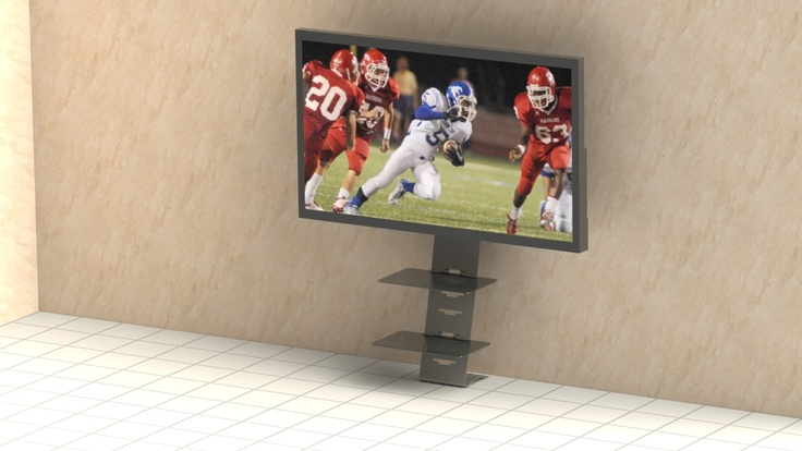 17 best images about designer tv mounts and more on for Best tv to hang on wall