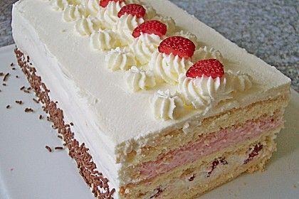 Erdbeer - Sahne - Torte 1